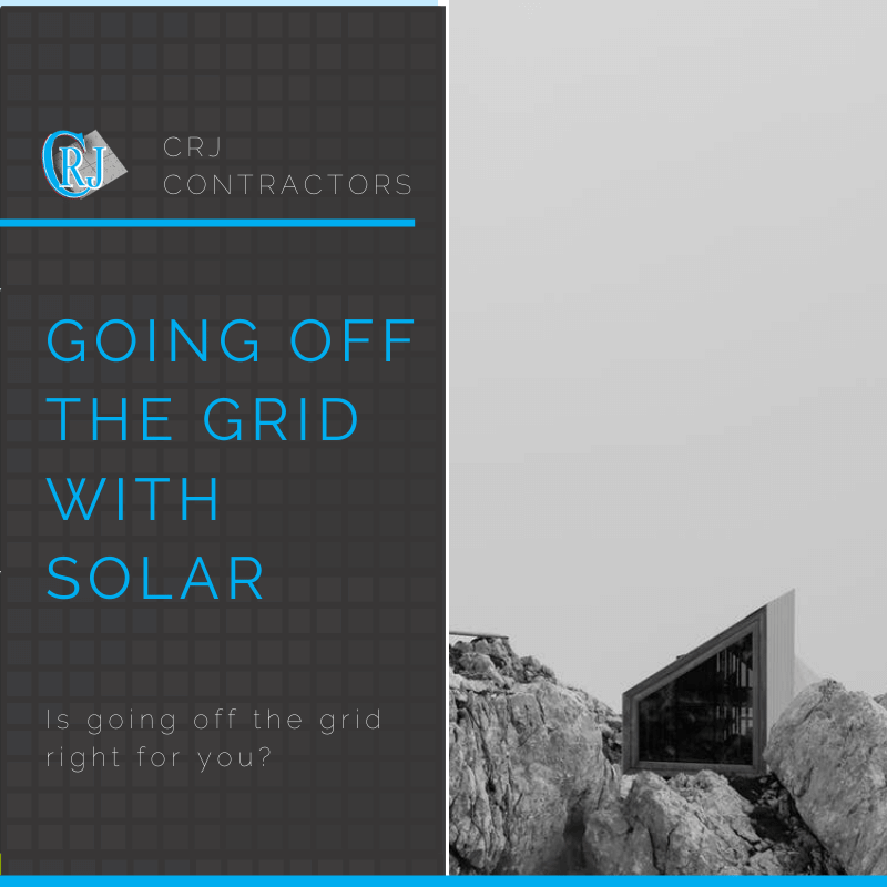 featured photo showing how going off the grid with solar may benefit solar investors