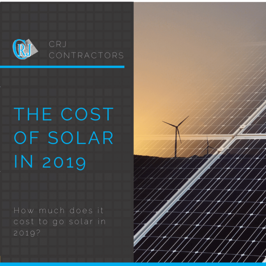 featured photo showing the cost of solar in 2019